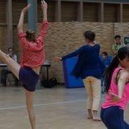 Performance participative au Carreau du Temple