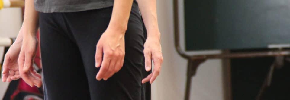 Atelier chorégraphique avec Pascaline Verrier : «Le geste et le verbe»