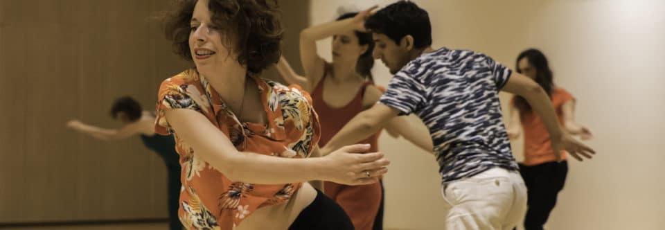 Cours de danse-improvisation au Carreau