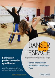 affiche formation danser l'espace